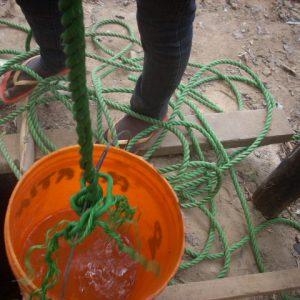 Schoon drinkwater voor de bevolking van het dorp DIDO